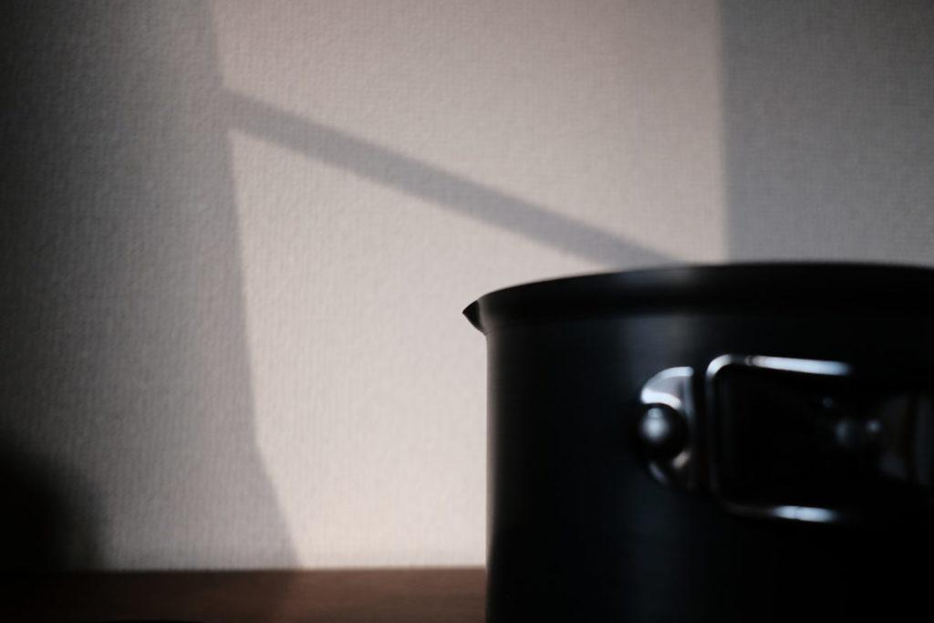クッカーのお湯注ぎ口画像