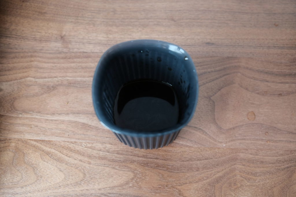 エアロプレス ゴーで淹れたコーヒー