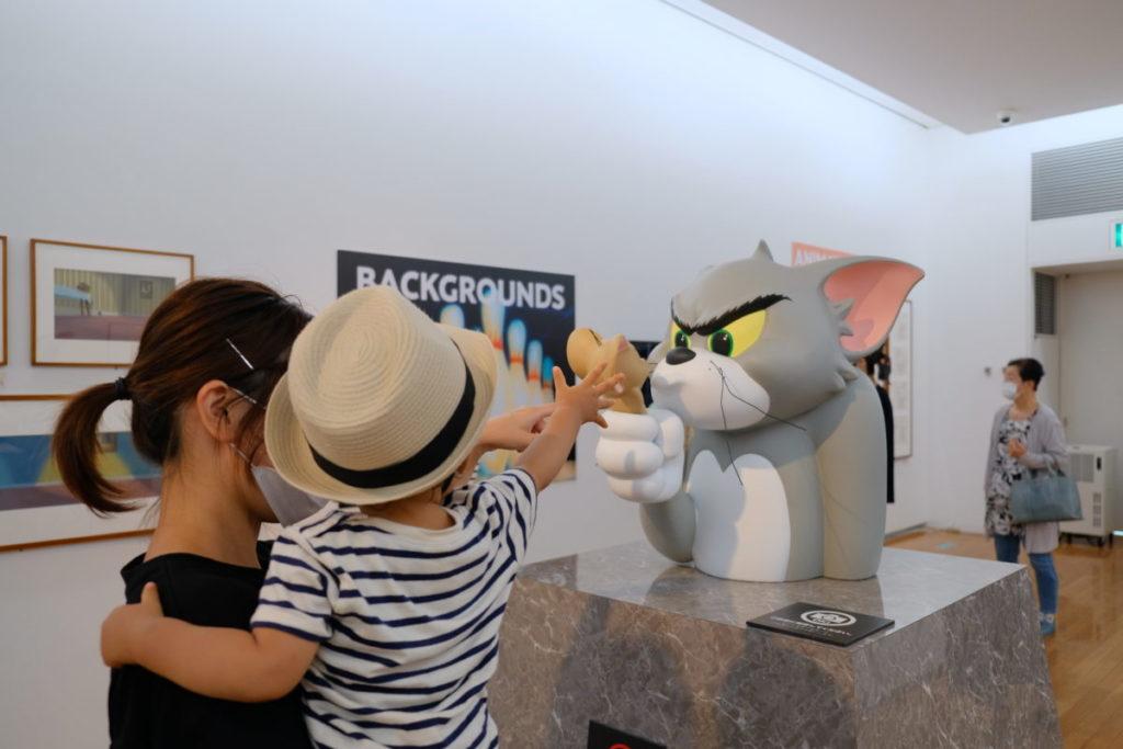 尾道市立美術館のトムとジェリー展にある作品1