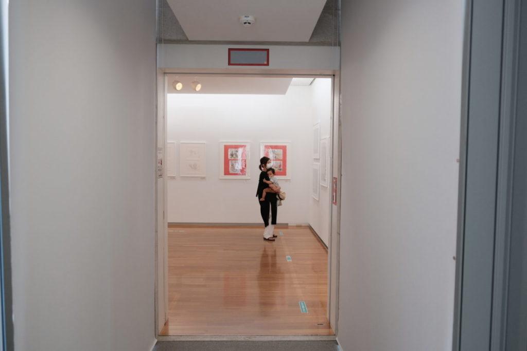 尾道市立美術館の館内
