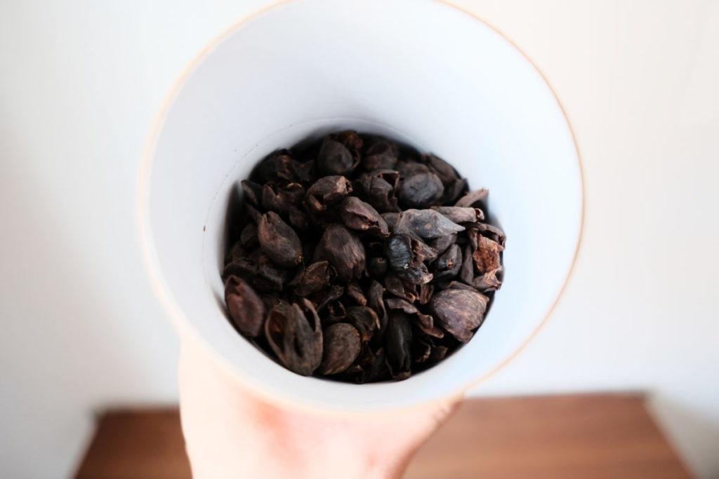 マーケットレーンコーヒーのカスカラコーヒーティー