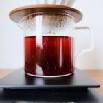 ドリップコーヒーを淹れた画像
